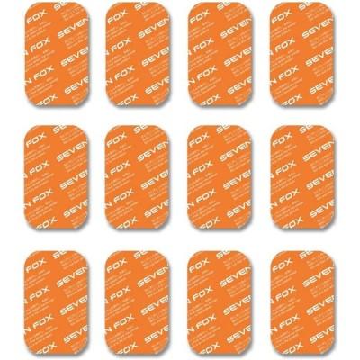 EMS ジェルシート 互換シート(12枚) はがしやすい 強粘着交換用ジェルパッド 高電導 トレーニング ダイエット (腹筋用)