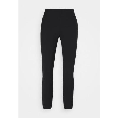 レディース ファッション BRUSCO PANTALONE TECNICO STRETCH - Leggings - Trousers - black