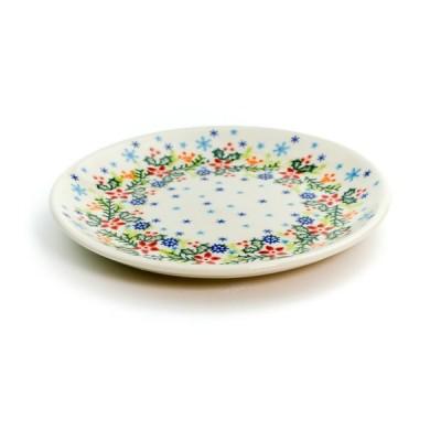 平皿φ17cm[V195-B304]【ポーリッシュポタリー[ポーランド食器・陶器]】
