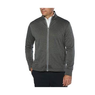 Callaway Men's Golf Full Zip Long Sleeve Waffle Knit Fleece Jacket, Castlerock Heather, X-Large【並行輸入品】