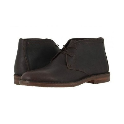 Trask トラスク メンズ 男性用 シューズ 靴 ブーツ チャッカブーツ Brady - Espresso English Oiled Steer