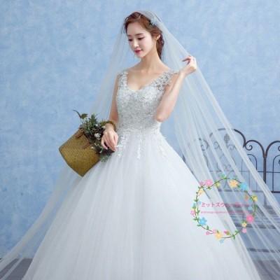 マタニティ ウェディングドレス エンパイア 袖あり 安い 白 ブライダル 花嫁 結婚式 ロングドレス 披露宴 ウエディングドレス 二次会 パーティードレス