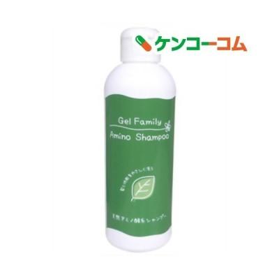 ゲルファミリー アミノシャンプー(ノンシリコンシャンプー) 本体 スリムボトル ( 180ml )/ ゲルファミリー