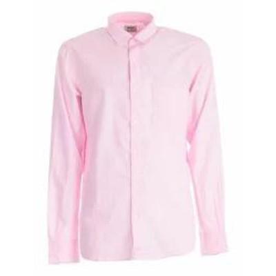 Aspesi メンズシャツ Aspesi Slim Fit Shirt Pink
