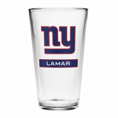 Boelter ベルター スポーツ用品  New York Giants Personalized 16oz Full Color Pint Glass