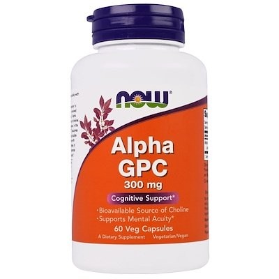アルファ GPC, 300 mg, 60 ベジキャップ