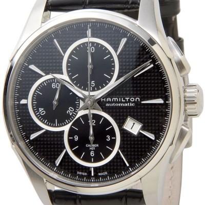 ハミルトン HAMILTON H32596731 アメリカンクラシック ジャズマスター オート クロノ 革ベルト(ブラック) メンズ ブランド 送料無料