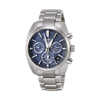 [セイコーウォッチ] 腕時計 アストロン クオーツアストロンイメージ GPSソーラー 青文字盤 サファイアガラス ダイヤシールド