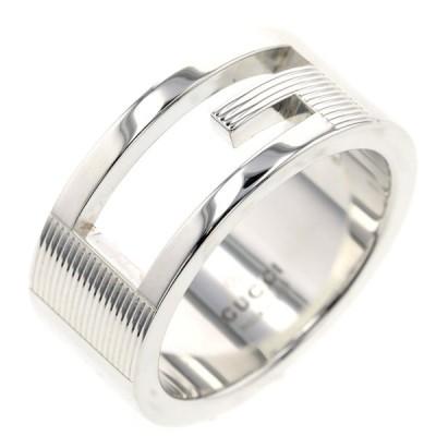 再値下げ グッチ ブランデッドG リング 指輪 シルバー925 10号 レディース GUCCI 中古 K01006282 PD2