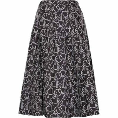 モンクレール MONCLER レディース スカート プリーツスカート Logo Pleated Skirt Grey