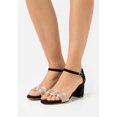 アンナフィールド レディース サンダル シューズ LEATHER COMFORT - Sandals - black black