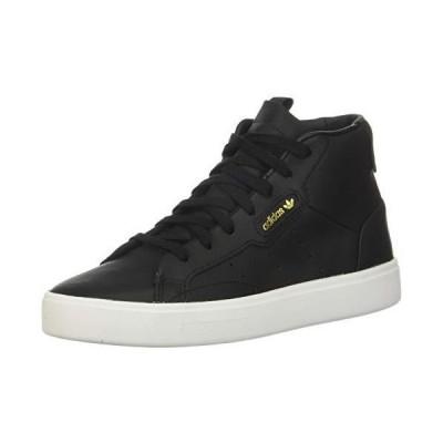 adidas Originals Women's Adidas Sleek MID W, core Black/Crystal White, 6.5 M US