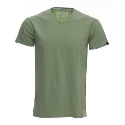 エックスレイ Tシャツ トップス メンズ Men's Big and Tall Basic V-Neck Short Sleeve T-shirt Dusty Mint