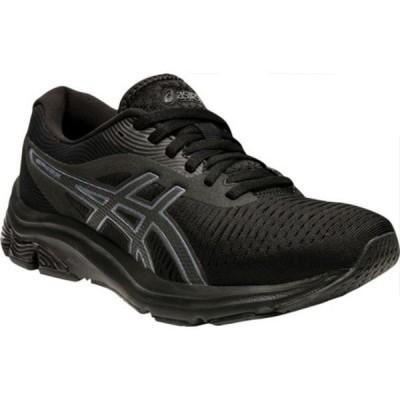 アシックス スニーカー シューズ レディース GEL-Pulse 12 Running Sneaker (Women's) Black/Black