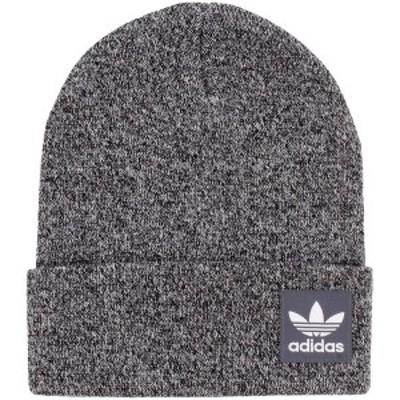 アディダス メンズ 帽子 アクセサリー adidas Originals Grove Cuffed Knit Hat Heathered Gray