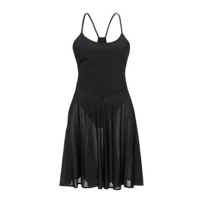 アレクサンドル・ボーティエ ALEXANDRE VAUTHIER ミニワンピース&ドレス ブラック S レーヨン 91% / ナイロン 8% / ポ