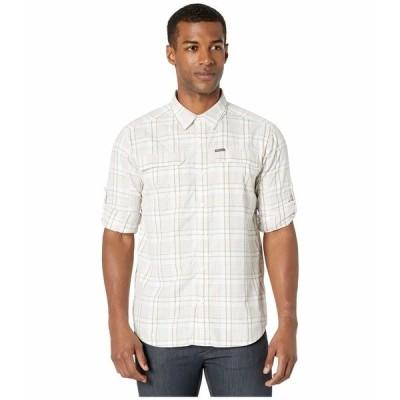 コロンビア シャツ トップス メンズ Silver Ridge 2.0 Plaid Long Sleeve Shirt White Grid Plaid