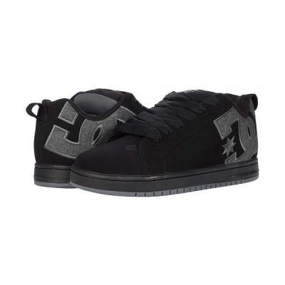 DC ディーシー メンズ 男性用 シューズ 靴 スニーカー 運動靴 Court Graffik - Black/Black/Grey