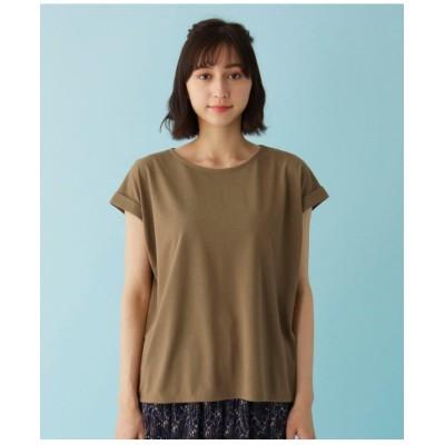 【M-L/アンチピリング/吸水速乾/UVケア】DRYMIX 袖タックTシャツ