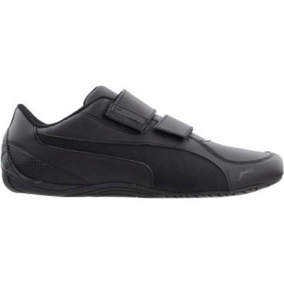 プーマ メンズ スニーカー シューズ Drift Cat 5 AC Lace Up Sneakers Puma Black / Puma Black