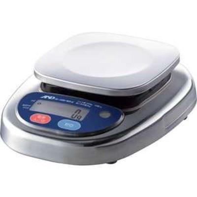 【送料無料】A&D 防塵防水デジタルはかり(検定付・3区)(品番:HL1000IWP-K-A3)『4548671』