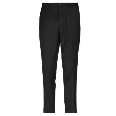 メッサジェリエ MESSAGERIE パンツ ブラック 52 ポリエステル 50% / レーヨン 35% / ウール 15% パンツ
