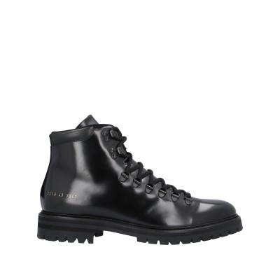 COMMON PROJECTS ショートブーツ ブラック 42 革 ショートブーツ