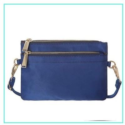 【新品】Small Crossbody Bags For Women Haytijoe Soft Nylon Cell Phone Purse Pouch Wallet(Blue)(並行輸入品)