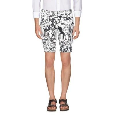 DOLCE & GABBANA ショートパンツ&バミューダパンツ ファッション  メンズファッション  ボトムス、パンツ  ショート、ハーフパンツ ホワイト