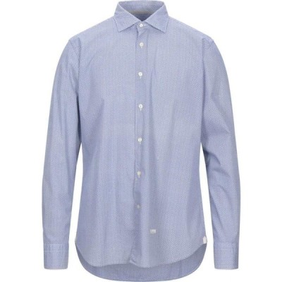 ティントリア マッティ TINTORIA MATTEI 954 メンズ シャツ トップス Patterned Shirt Blue