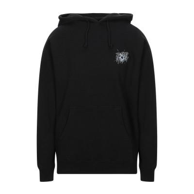 10.DEEP スウェットシャツ ブラック S コットン 100% スウェットシャツ