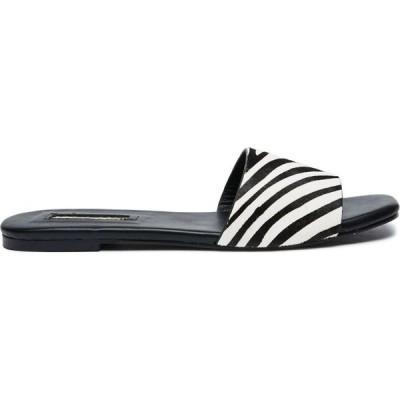 ビリーニ Billini レディース サンダル・ミュール シューズ・靴 theo slide Zebra pony