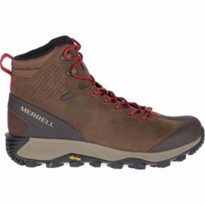 (取寄)メレル メンズ サーモ グレイシャー ミッド WP ブーツ Merrell Men's Thermo Glacier Mid WP Boot Earth
