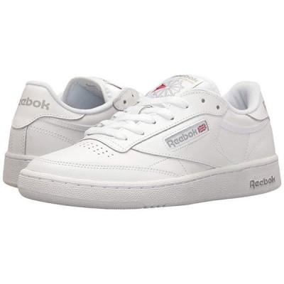 リーボック Club C 85 メンズ スニーカー 靴 シューズ Int/White/Sheer Grey