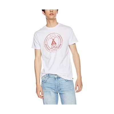 ボルコム メンズ 半袖 プリント Tシャツ (アジアンFIT) AF011909 / Apac Peace Scissors S/S Tee