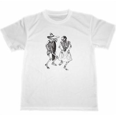 POSADA ドライ Tシャツ ダンス 髑髏 スカル カラベラ ドクロ グッズ パンク ダンス