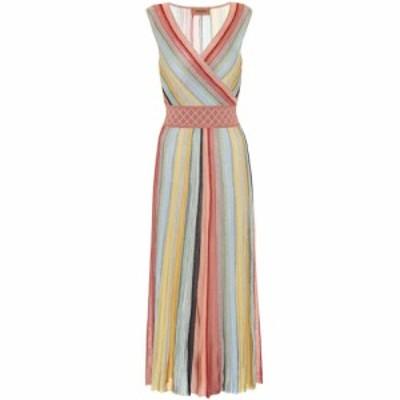 ミッソーニ Missoni レディース ワンピース ワンピース・ドレス Striped crochet midi dress