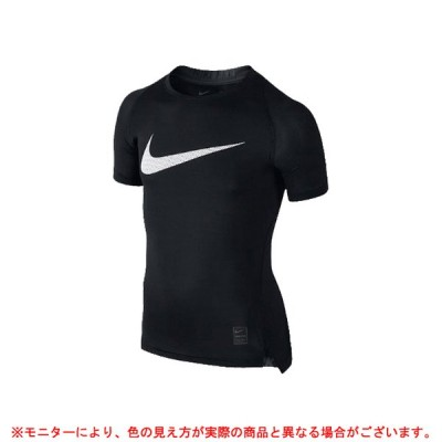 NIKE(ナイキ)ナイキプロ ボーイズ クールコンプレッション S/Sトップ(726462)スポーツ トレーニング ウェア 半袖 吸汗速乾 子供用 ジュニア キッズ