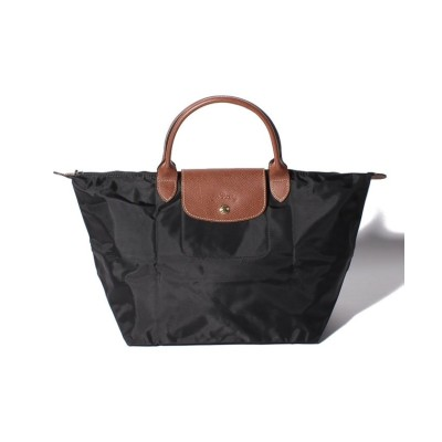【ロンシャン】 Le Pliage Top Handle Bag M ロンシャン レディース ブラック F Longchamp