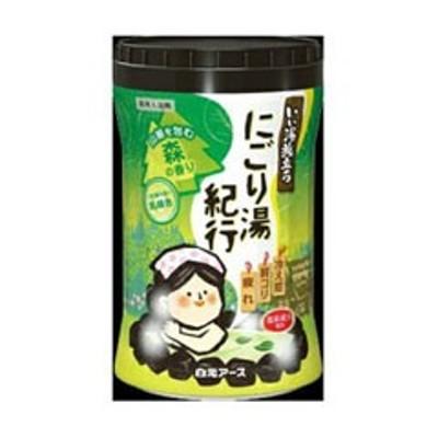 白元アース HAKUGEN EARTH いい湯旅立ち にごり湯紀行 森の香り 600g 日用品・生活雑貨