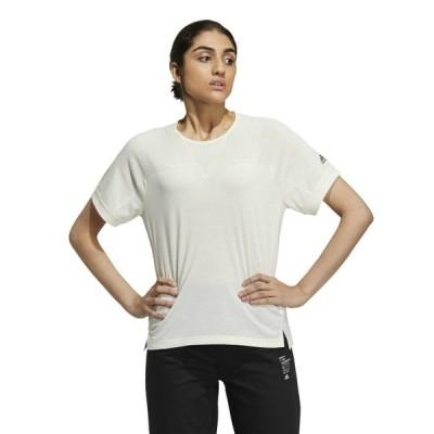 アディダス adidas Tシャツ 半袖 レディース W TECH TEE JKO01-GM8818