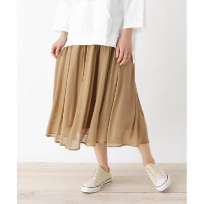 SHOO・LA・RUE/Cutie Blonde(シューラルー) 【M-L】メッシュベルト付きスラブスカート