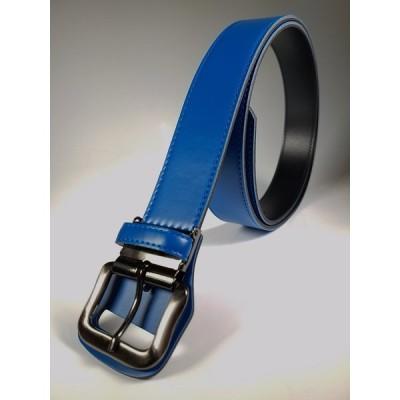 《ロング ベルト》SeaLand 野球 ベルト サイズ130cmまで:幅40mm 【ブルー】 日本製