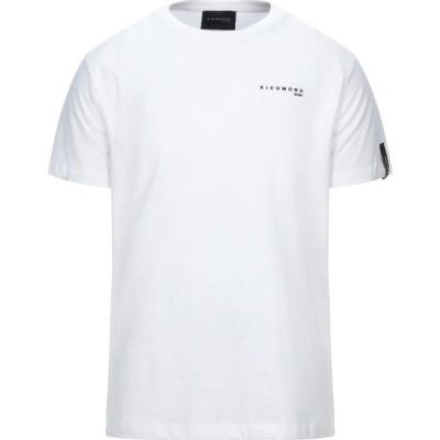 リッチモンド RICHMOND メンズ Tシャツ トップス t-shirt White