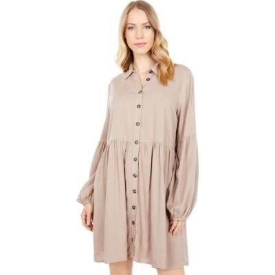 ロストアンドワンダー LOST + WANDER レディース ワンピース ミニ丈 ワンピース・ドレス Weekend Bliss Mini Dress Almond