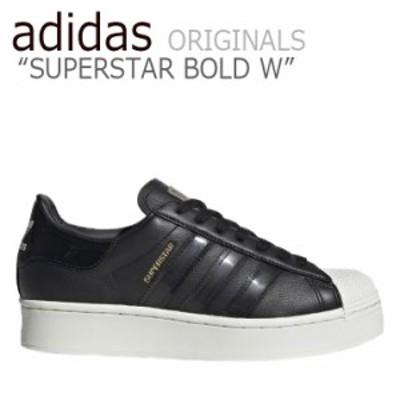 アディダス スーパースター スニーカー adidas レディース SUPERSTAR BOLD W スーパースター ボールド BLACK ブラック FV3354 シューズ