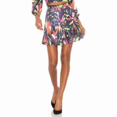 オリビアルービン Olivia Rubin レディース ミニスカート スカート Poppy Skirt Abstract Floral