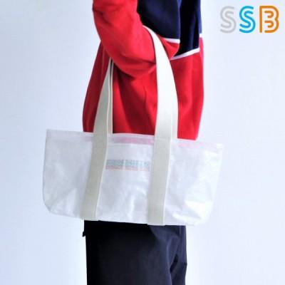 SSBトートバッグ S SSB-101 大容量 ショッピングバッグ 透明 ホワイト シンプル エスエスビー イデアポート