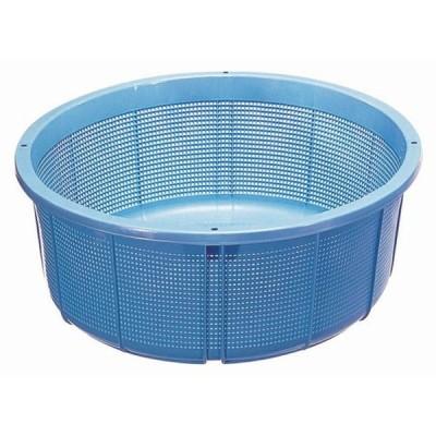 ざる 調理器具 / セキスイ ザルカゴ(ポリエチレン) #35 ブルー 寸法: 外径:550 x H210mm 内径:503mm