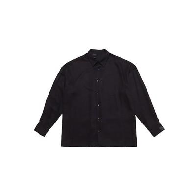 <N.HOOLYWOOD(Men)/エヌ.ハリウッド> カジュアルシャツ 2211-SH24-021 peg BLACK【三越伊勢丹/公式】